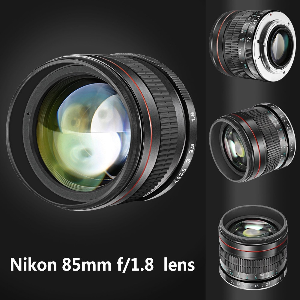 Neewer 85 مللي متر f/1.8 صورة Aspherical تليفوتوغرافي عدسة لنيكون D5 D4 D810 D0800 D750 D610 ل Canon80D 70D 60D 60Da 50D 7D 6D 5D