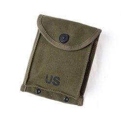 Воспроизведение Корейской войны армии США 30RD M1 карабин зелено-армейский брезентовый мешочек для журнала США/89702