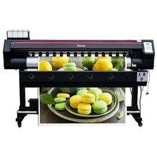 5 voeten locor CMYK grootformaat printer 160cm met 1440 DPI enkele printkop XP600 billboard printer 1.6m printer