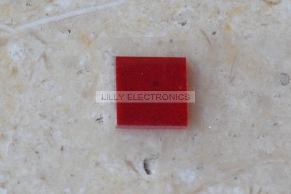6x6x1,0mm 650nm láser de alta transmitancia/filtro contra 400-1100nm