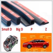 D Z P B Type Car Rubber Seal Insulation Edge Door Sealing Strip for BMW 335is Scooter Gran 760Li 320d 135i E60 E36 F30 F30