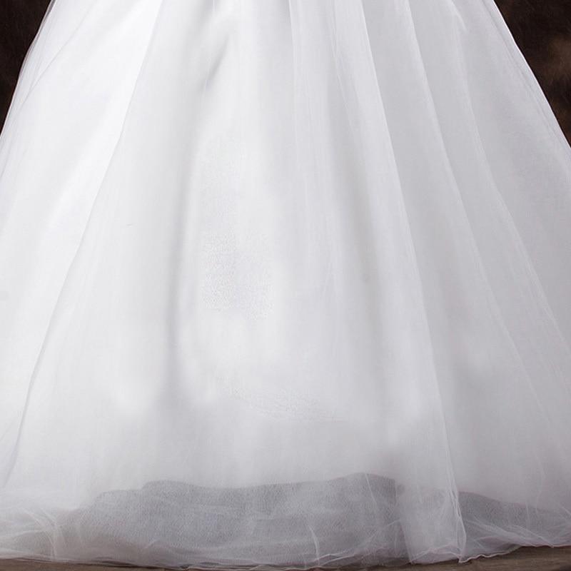 LAMYA Court Train Wedding Dress 2021 Cheap Celebrity Strapless Vintage Tulle Bridal Ball Gown Organza Lace bridal dresses