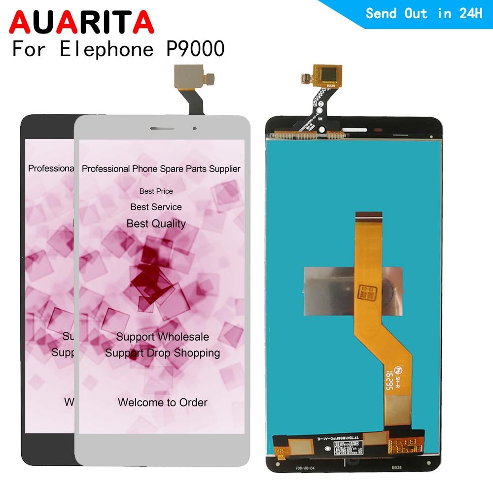 P9000 LCD para Elephone P9000 pantalla LCD con panel táctil 100% de pantalla probado Montaje del digitalizador de pantalla Elephone P 9000