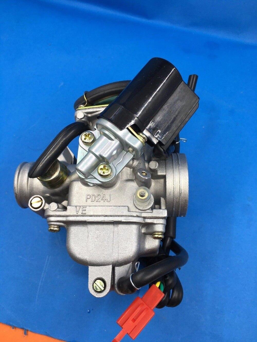 GY6 150CC PD24J Carburateur Motorfiets Scooter ATV Gokart QMJ/QMI157 QMJ/QMI152