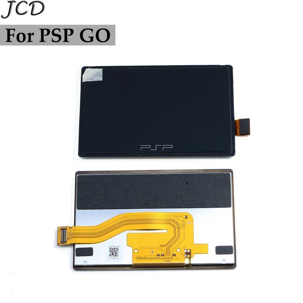 JCD для PSP GO ЖК-экран ЖК-дисплей Замена экрана для игровой консоли PSPgo