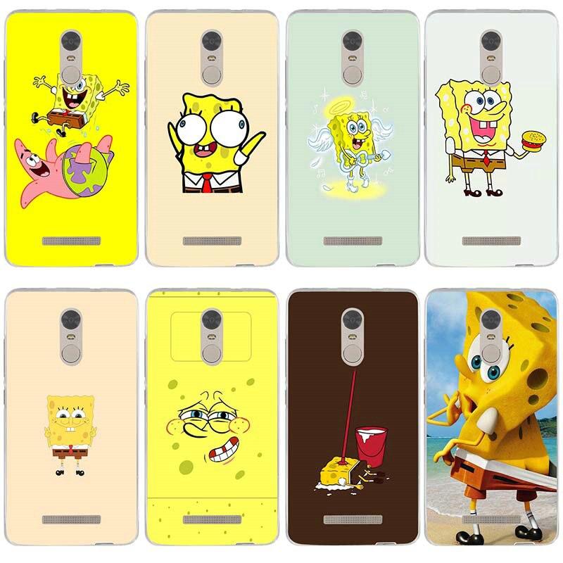 Weiche Silikon Patrick Thaddäus Spongebob für Xiao mi Red mi mi Hinweis 2 3 3 S 4X 4A 6 5 5 S 5A 6 8 A1 Pro Plus Handy Fällen