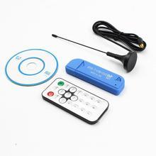 USB2.0 DAB FM DVB-T RTL2832U R820T SDR RTL-SDR bâton de Dongle récepteur de télévision numérique récepteur IR à distance avec antenne livraison directe