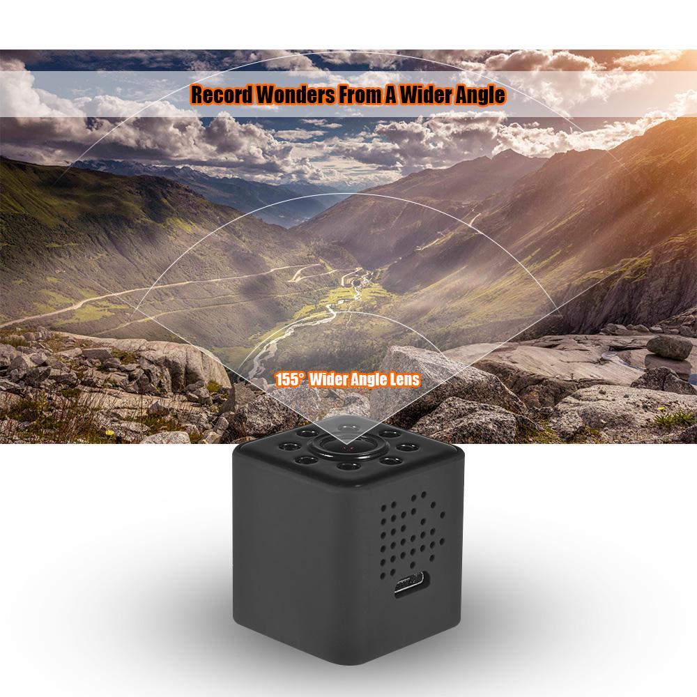 SQ23 Mini cámara portátil WiFi Full HD 1080P pequeña videocámara Digital grabadora...