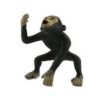 Simulado gorila realista simulação poderosa mundo vida selvagem animal modelo brinquedos animais unisex plástico crianças brinquedo presentes 2020