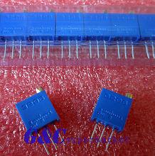 10pcs 3296W-203 3296 W 20K ohm Trim Pot Trimmer Potentiometer