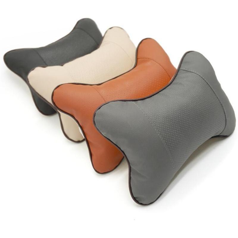 1 uds, cojín de asiento para reposacabezas de coche para Skoda Octavia A2 A5 A7 Fabia Rapid Superb Yeti Roomster, accesorios