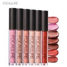 Focallure brand makeup Nude series matte lip gloss waterproof velvet matte liquid lipstick pigment lip beauty lip kit FA24
