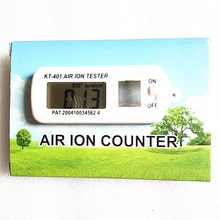 KT-401 공기 Aeroanion 테스터 이온 미터 aeranion 감지기 부정적인 산소 이온 음이온 농도 detecto 자동 공기 청정기