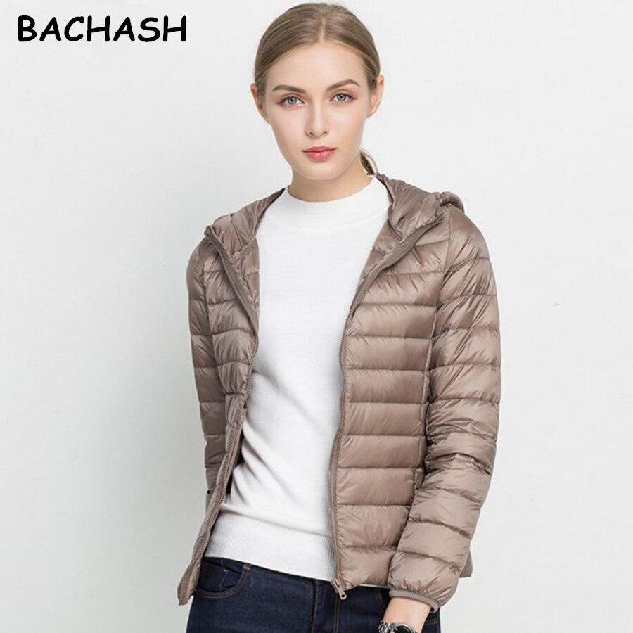 BACHASH 2018 nowy marka babie lato kurtka damska typu basic kobiet Slim Zipper płaszcze z kapturem dorywczo czarne kurtki ubrania świąteczne
