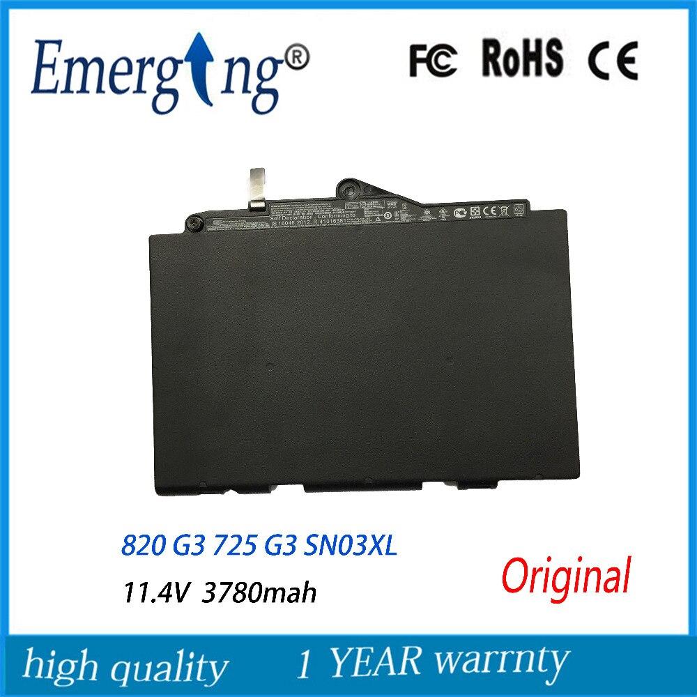 44WH جديد الأصلي بطارية كمبيوتر محمول ل إتش بي EliteBook 820 G3 725 G3 SN03XL ST03XL 800514-001N HSTNN-UB6T