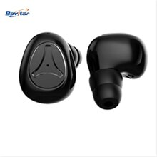 Auricular Bluetooth 5,0 de Bovitar, auricular inalámbrico TWS Bluetooth, auricular deportivo para Smartphone