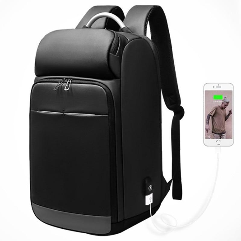 Multifunction USB charging Men 15 inch Laptop Backpacks Teenager School Bag Fashion Male Mochila Travel backpack anti thief Bags