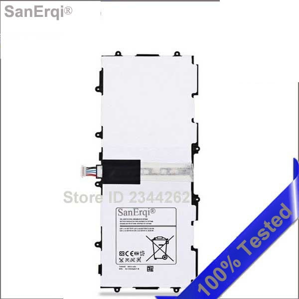 Для Samsung Galaxy Tab 3 10,1 P5200 P5210 P5220 аккумулятор 6800 мАч SP3081A9H T4500E