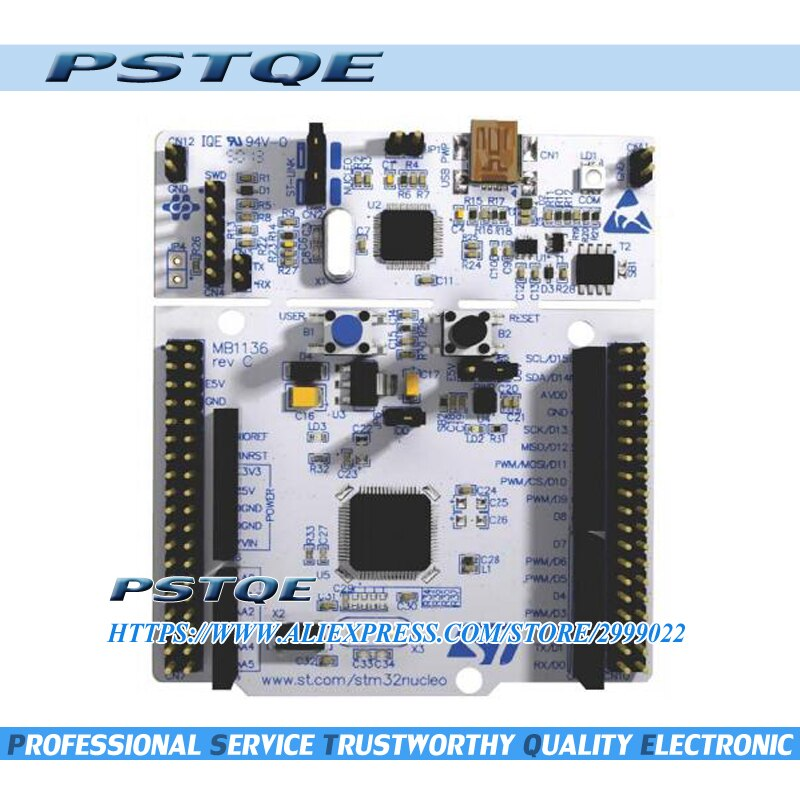 Новая оригинальная плата для разработки NUCLEO-F446RE STM32 Nucleo с STM32F446RET6 MCU