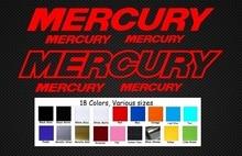 Für 2Pcs Mercury Aufkleber Aufkleber GROßE Kit Außenborder OptiMax Pro XS Reproduktion Bass Boot Auto Styling