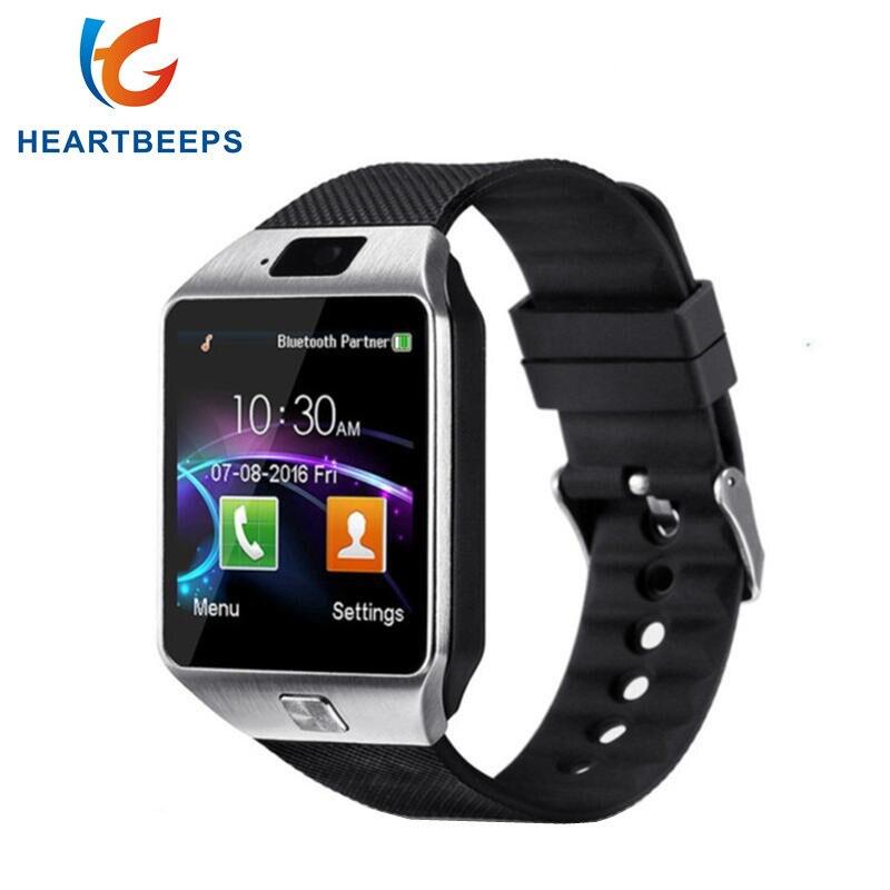 Reloj inteligente DZ09 con Bluetooth, reloj inteligente Android, reloj de llamada 2G GSM SIM tarjeta TF de cámara para iPhone Samsung HUAWEI PK GT08 A1