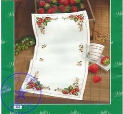 Kit de tabela bonito contado, qualidade superior, pano de mesa, toalha, morango, frutas, placemat
