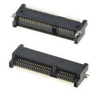 10 шт./лот 52Pin Mini Pcie коннектор 4,0 H может через пайки с оплавлением предоставить упаковку библиотеки в наличии