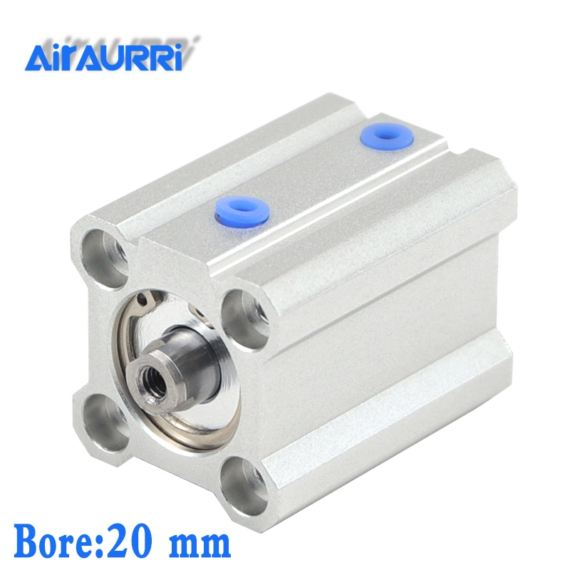 Фото - smc type CQ2B/CDQ2B bore 20mm stroke 5/10/15/20/25/30/35/40/45/50mm Double Acting single rod compact pneumatic cylinder air cylinder sda series male thread pneumatic compact airtac type 16 20 25 32 40 50 63mm bore to 5 10 15 20 25 30 35 40 45 50mm