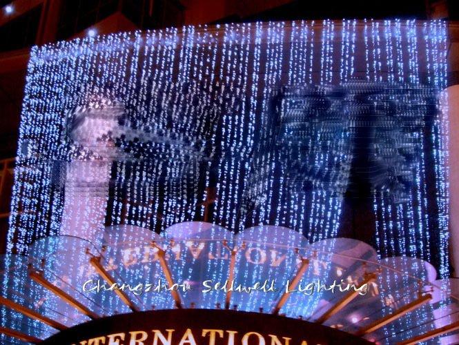 2020 Real Christmas Tree Decorations New!festival Lighting Wedding Celebration Backdrop Decoration Product 4*8m Led Lamp H217
