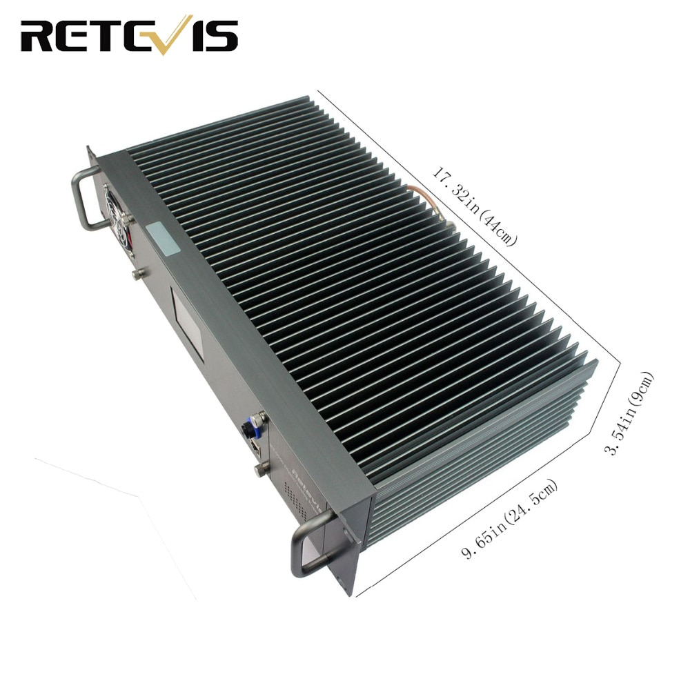 Retevis RT-9550 DMR Repeater 55W UHF Digital/Analog Mode TDMA 2 Time Slots A9116B