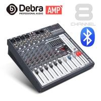 Good quality Clean sound!!8 Channels 360 Watt Power Amplifie Mixer Digital Audio dj controller with 48V Phantom Power USB Slot