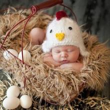 Jane Z Ann-vêtements de photographie pour bébés   costume photo fait à la main poulet/de 3 à 4 mois, pour studio de photographie dœufs