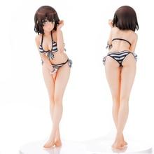 Japon Anime Saenai héroïne pas de Sodatekata Megumi Katou Megum KATO figurine daction Sexy PVC maillot de bain bikini fille Collection jouets