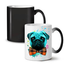 Sad Fancy Pug Puppy NEW Colour Changing Tea Coffee Mug 11 Oz