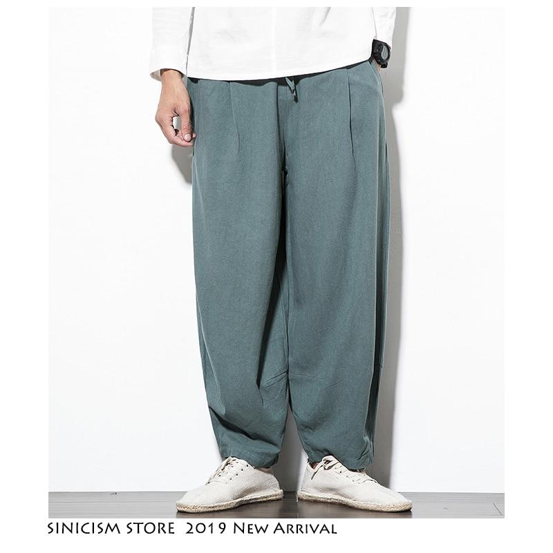 Tienda china Streetwear Harajuku pierna larga pantalones 2020 Mens Hip Hop Harem Pantalones Hombre negro de moda pantalones de chándal 5XL