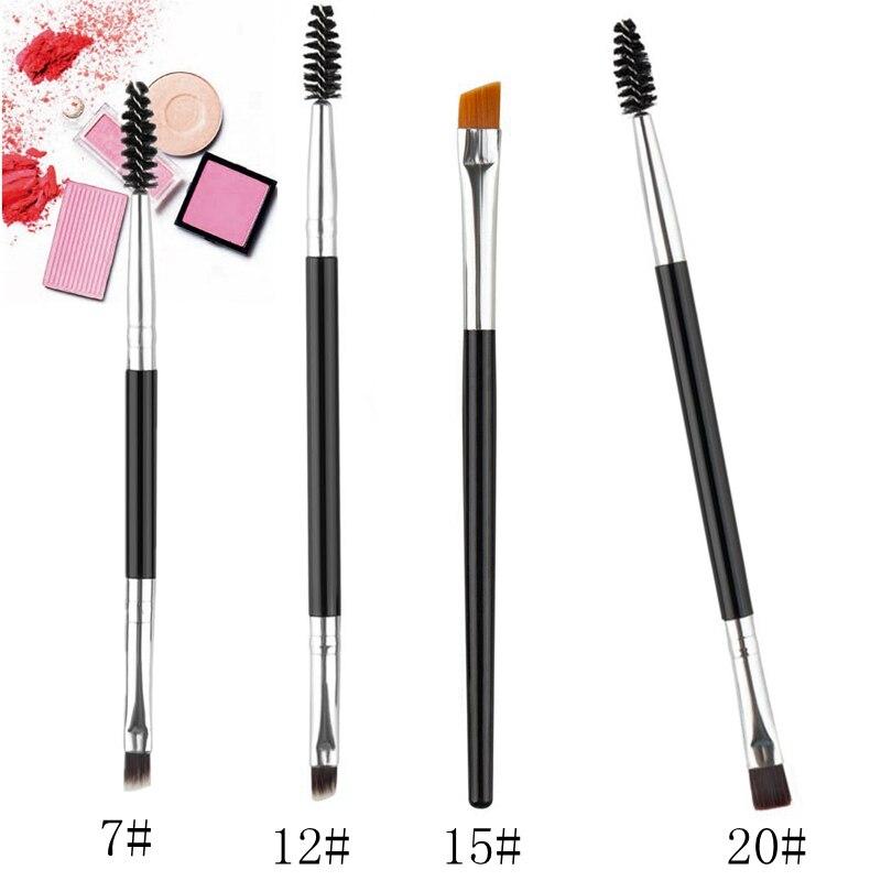 Pinceles cosméticos de maquillaje para cejas, colorete y sombra de ojos