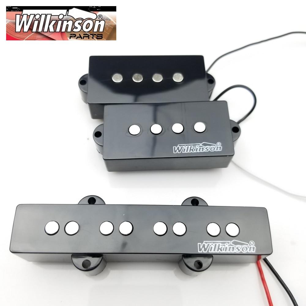 Wilkinson 4 струны PB электрическая бас гитара пикап четыре струны P бас Humbucker пикапы MWPB + MWBJ