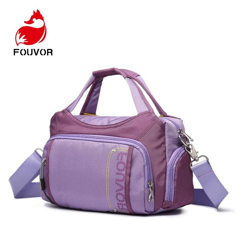 Fouvor المرأة رسول حقائب عالية الجودة عبر الجسم حقيبة أكسفورد الإناث الكتف حقيبة الشاطئ حقائب عارضة حمل Bolsas الأنثوية