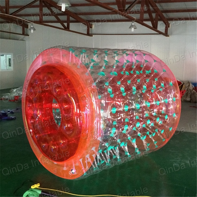 Hermético PVC rolo Inflável da esfera/bola Barato engraçado rolo da água, bolas de rolo da água