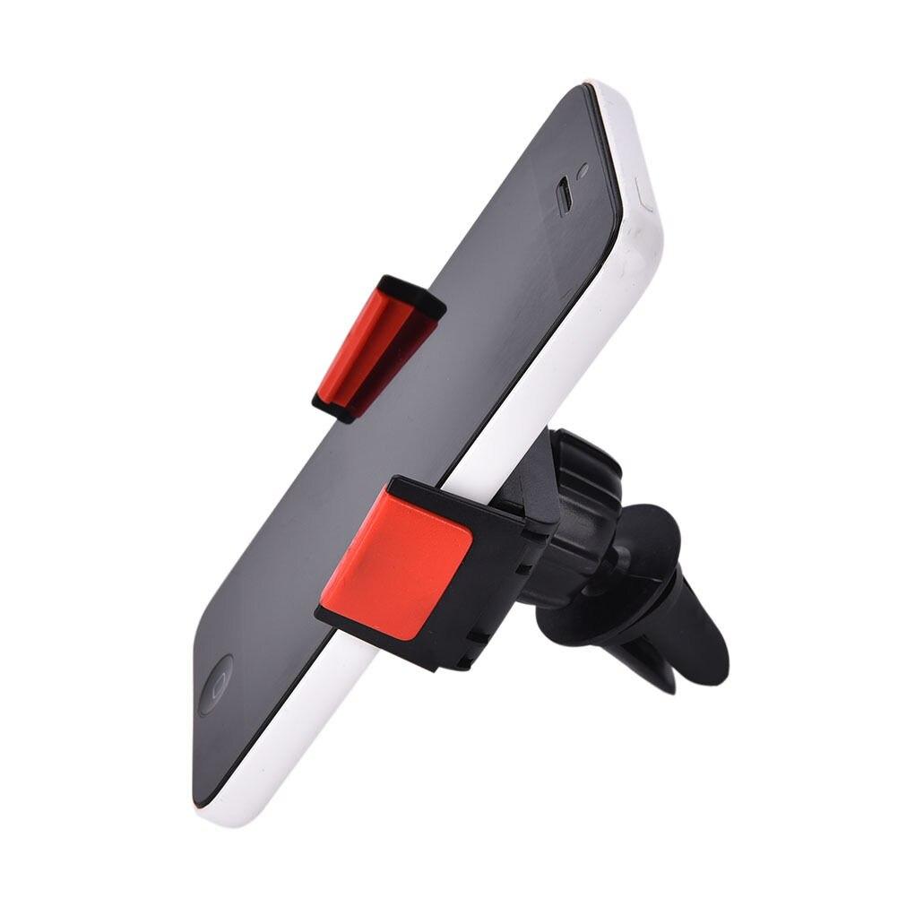 Para xiaomi mi5 redmi 3car soporte de teléfono móvil para huawei p8 lite iphone se 5 5s 6 6s soporte de montaje en rejilla de ventilación Universal para coche