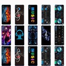 Étui pour samsung A50 étui pour samsung Galaxy A50 A60 A10 A30 A40 A70 50 2019 A9 A7 2018 ddj dj musique