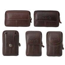THINKTHENDO hommes taille sac petit Pack pochette argent monnaie portefeuille pochette téléphone sac étui voyage sac 2018