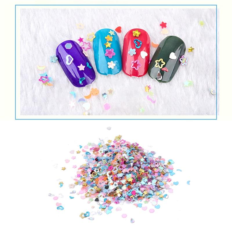 FSHALL 5000pcs/1 Bag Fimo Foil Sticker Pen Fruit Nail Sticker For Nail Accessories Beauty Nail Art Decoration 3T01363
