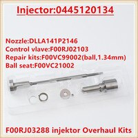 injektor repair kit F 00R J03 288 / F00RJ03288 injector Overhaul Kits F00R J03 288 for injectors 0 445 120 134