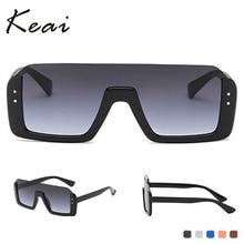 Men Vintage Oversized Polarized Sunglasses Classic Brand Flat Top Sun glasses Coating Lens Driving S