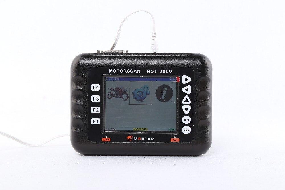 Herramienta de escáner de motocicleta resistente MST-3000 herramienta de diagnóstico de motocicleta para DUCATI/BMW/Kawasaki/yamaha/ktm/sym escáner de motocicleta