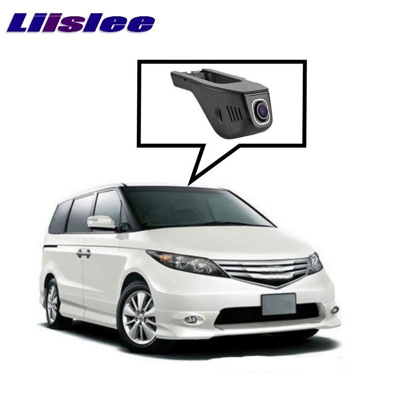 LiisLee Registro Wi-fi DVR Traço Estrada Câmera Condução Do Carro Gravador De Vídeo Para HONDA Elysion RC1 RC2 2015 ~ 2017