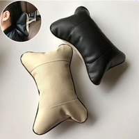 2pcs Car neck pillows headrest case for Kia Rio K2 K3 K5 K4 KX3 KX5 Cerato Soul Forte Sportage SORENTO