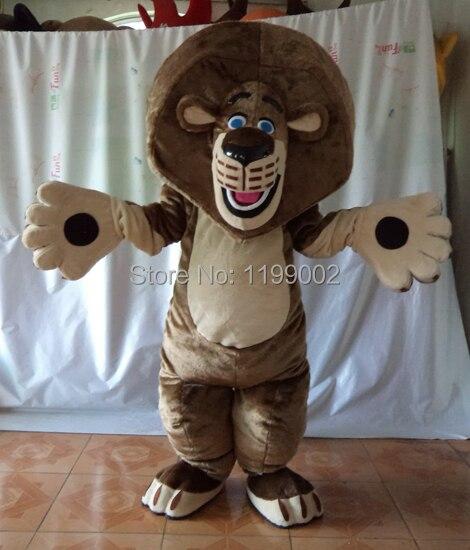 MASCOT CITY madagascar traje de Mascota de León personalizado disfraz de fantasía anime kits de cosplay mascotte tema disfraz de Carnaval