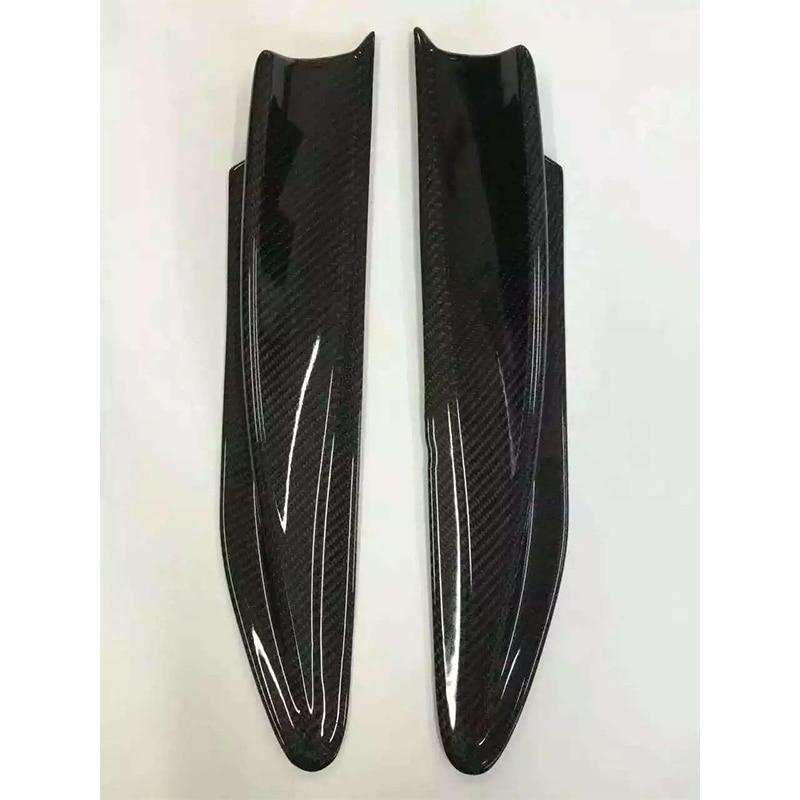 Apto para TOYOTA GT86 BRZ leaf decorative board TRD cuchillo de viento de aire de fibra de carbono